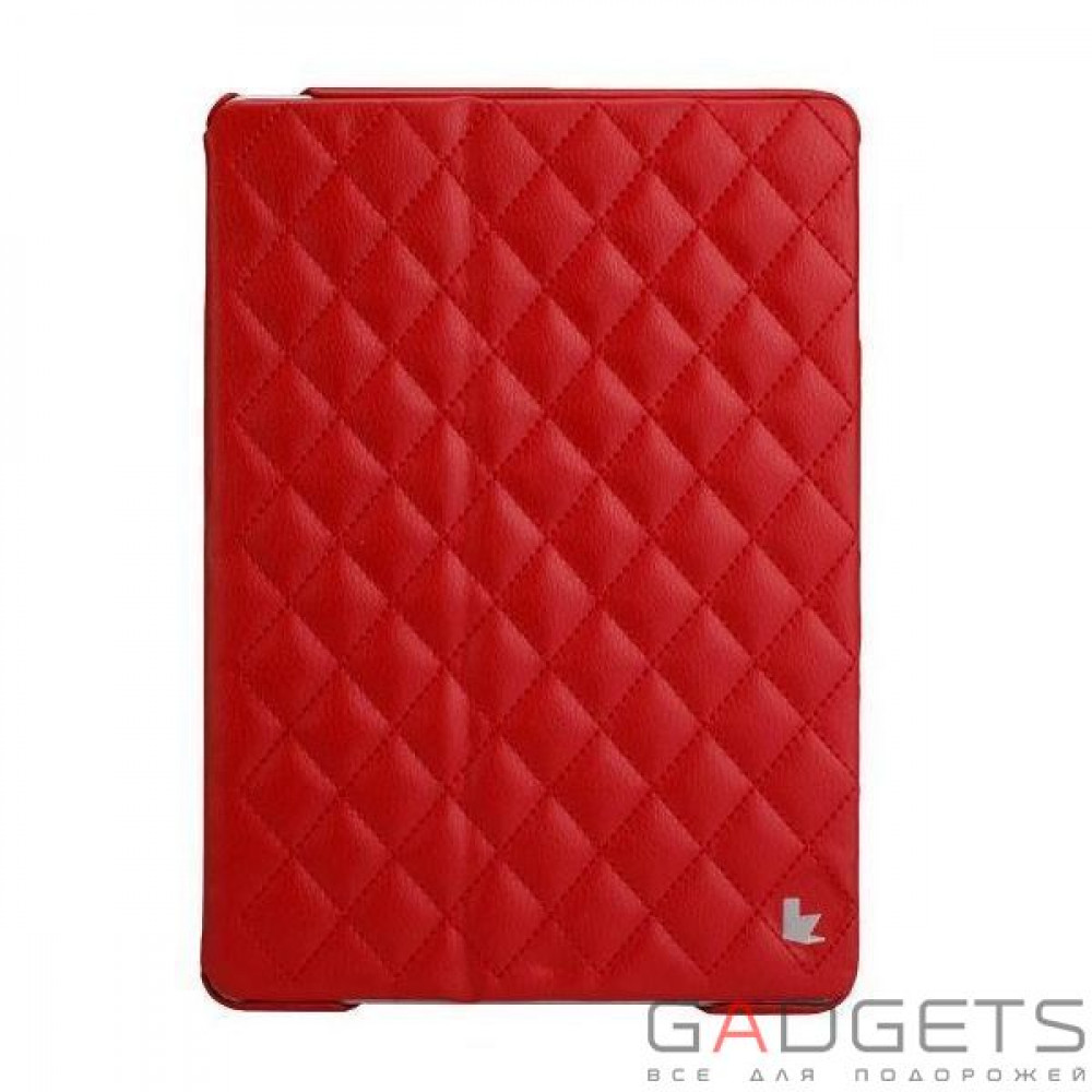 Фото Jison Case Quilted Leather Smart Case Red for iPad Air (JS-ID5-02H30)