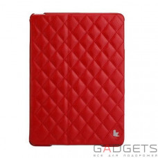 Jison Case Quilted Leather Smart Case Red for iPad Air (JS-ID5-02H30)