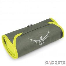 Косметичка Osprey Washbag Roll Electric Lime O/S, зеленая