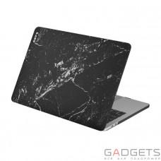 Чехол-накладка Laut Huex Elemets для MacBook Pro 13 (2016), черный мрамор