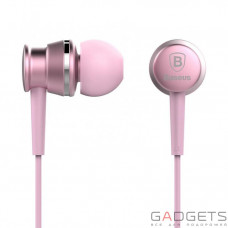 Навушники Baseus Lark Series Wired Earphones Sakura Pink