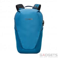 Рюкзак антивор для ноутбука Pacsafe Venturesafe X18, 5 степеней защиты, голубая сталь