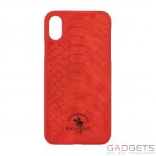 Чохол  Polo Knight для iPhone X  Red (SB-IPXSPKNT-RED)