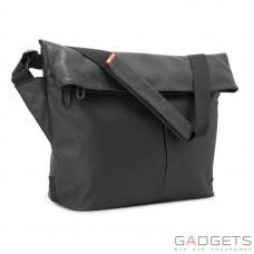 Сумка для ноутбука Incase Leather / Canvas Mini Messenger 13'' Black