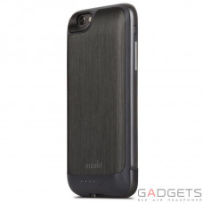 Чохол з додатковим акумулятором Moshi iGlaze Ion Slide-On Battery Case Steel Black 2860 mAh for iPhone 6/6S (99MO079003)