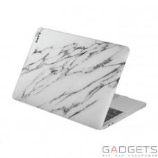 Чехол-накладка Laut Huex Elemets для MacBook Pro 13 (2016), белый мрамор