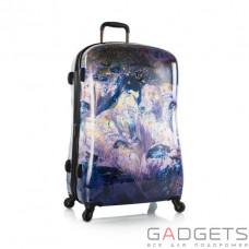 Чемодан Heys Purple Amethyst (L) Stone Print