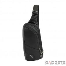 Сумка через плечо антивор Pacsafe Vibe 150, 5 степеней защиты, черный