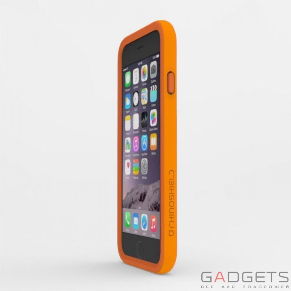 Фото Бампер Rhino Shield Crash Guard Orange для iPhone 6 / 6s