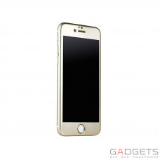 Защитное стекло iBacks Full Screen Tempered Glass for iPhone 6 Champagne gold