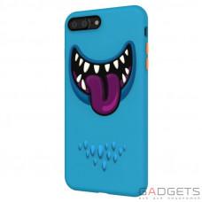 Чохол  SwitchEasy Monsters Case для iPhone 7 Plus Blue