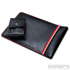 Чехол для ноутбука COTEetCI Leather Sleeve Bag 11'' Black (CS5127-BK)