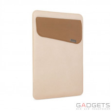 Чехол-карман Moshi Muse 13 Microfiber Sleeve Case Sahara Beige for MacBook Pro 13 with/without Touch Bar (99MO034715)