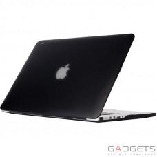 Чехол-накладка Moshi Ultra Slim Case iGlaze Graphite Black для MacBook Pro 15 Retina (99MO071003)