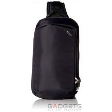 Сумка через плечо антивор Pacsafe Vibe 325, 5 степеней защиты, черный