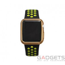 Чохол COTEetCI TPU Gold Case для Apple Watch 2 38MM (CS7040-CE)