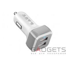 Автомобільний зарядний пристрій Laut Car chargers білий (LAUT_PD02_W)