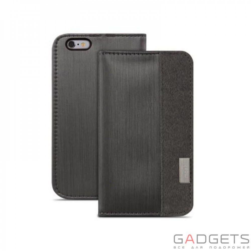 Фото Чехол Moshi Overture Wallet Case Steel Black for iPhone 6