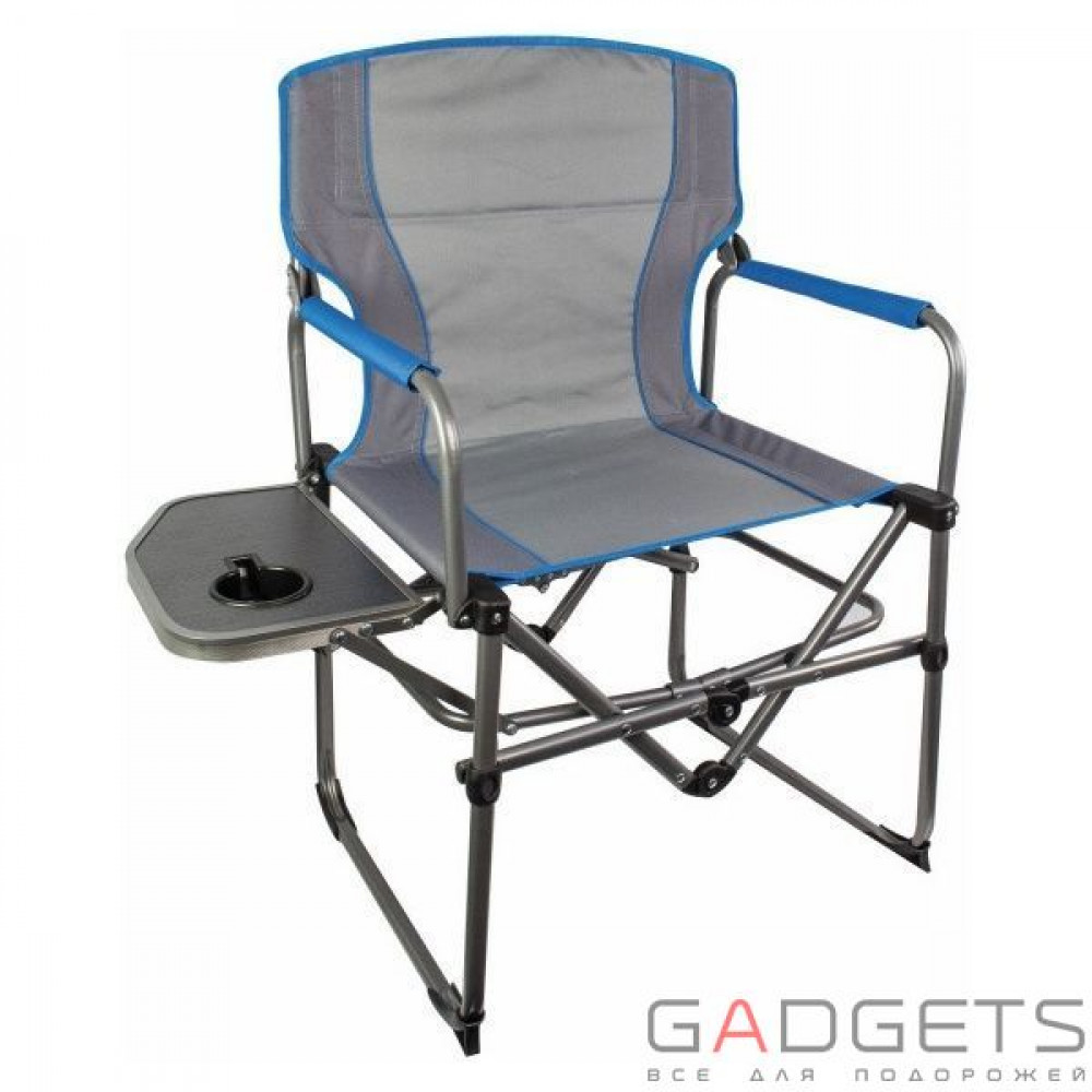 Фото Стул Highlander Compact Directors With Side Table Grey