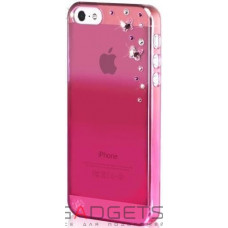 Чехол Bling My Thing Case для iPhone 5 Metallic Mirror Butterflies Light Rose (BMT-22-16-09-41)