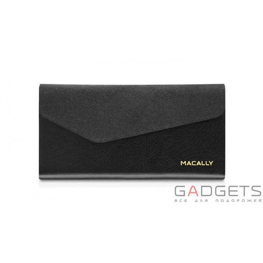 Фото Чехол Macally Protective Wallet Folio Case for iPhone 5C (WALLETP6-B)