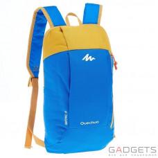 Рюкзак ARPENAZ 10 л Quechua Желтый/Голубой