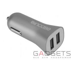 Автомобільний зарядний пристрій Incase High Speed Dual Car Charger Metallic Gray (CL90037)