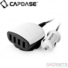 Автомобильное з/у Capdase Quartet USB Car Charger Boosta Z4 (6.2 A) White (CA00-7B02)