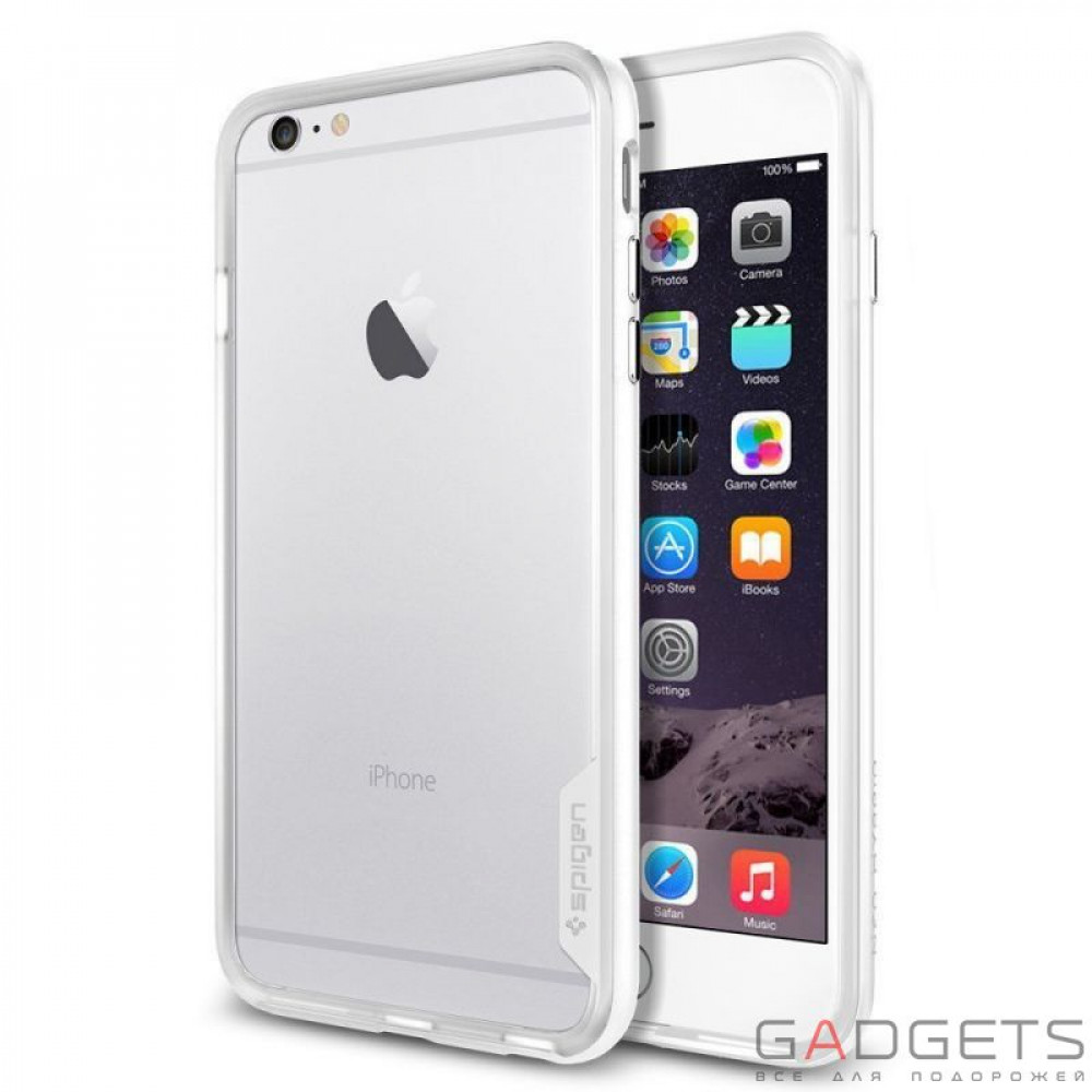 Фото Чехол-бампер Spigen Case Neo Hybrid EX Series Infinity White for iPhone 6 Plus 5.5'' (SGP11062)