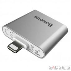 Адаптер Baseus IP To Double IP Socket Adapter L39 Silver