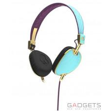 Наушники Skullcandy Robin/Smoked Purple/Gold KnockOut On-Ear w/mic 3 (S5AVGM-396)