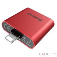 Адаптер Baseus IP To Double IP Socket Adapter L39 Red