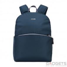 Жіночий рюкзак антизлодій Pacsafe Stylesafe, 6 ступенів захисту, темно-синій