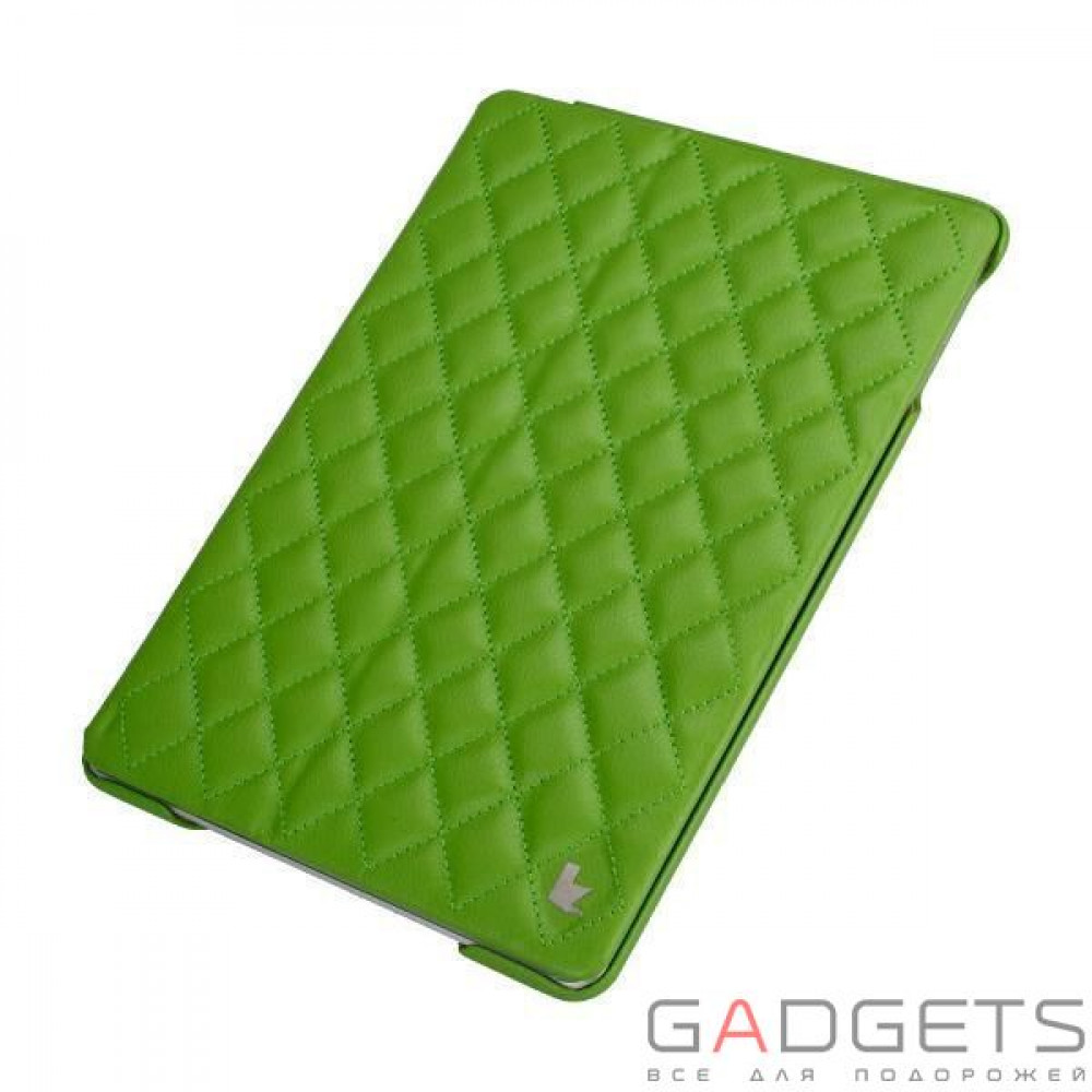 Фото Jison Case Quilted Leather Smart Case Green for iPad Air (JS-ID5-02H70)
