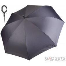 Зонт трость женский Perletti Синий с черным (26017;8700)