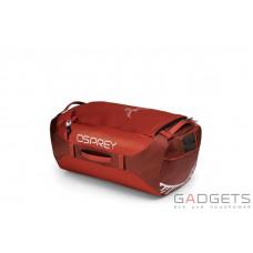 Сумка Osprey Transporter 65 Ruffian Red O/S, красная