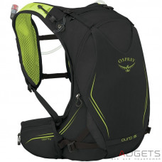 Рюкзак Osprey Duro 15 Electric Black M/L, черный