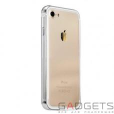 Бампер COTEetCI Aluminum + TPA для iPhone 7 Silver