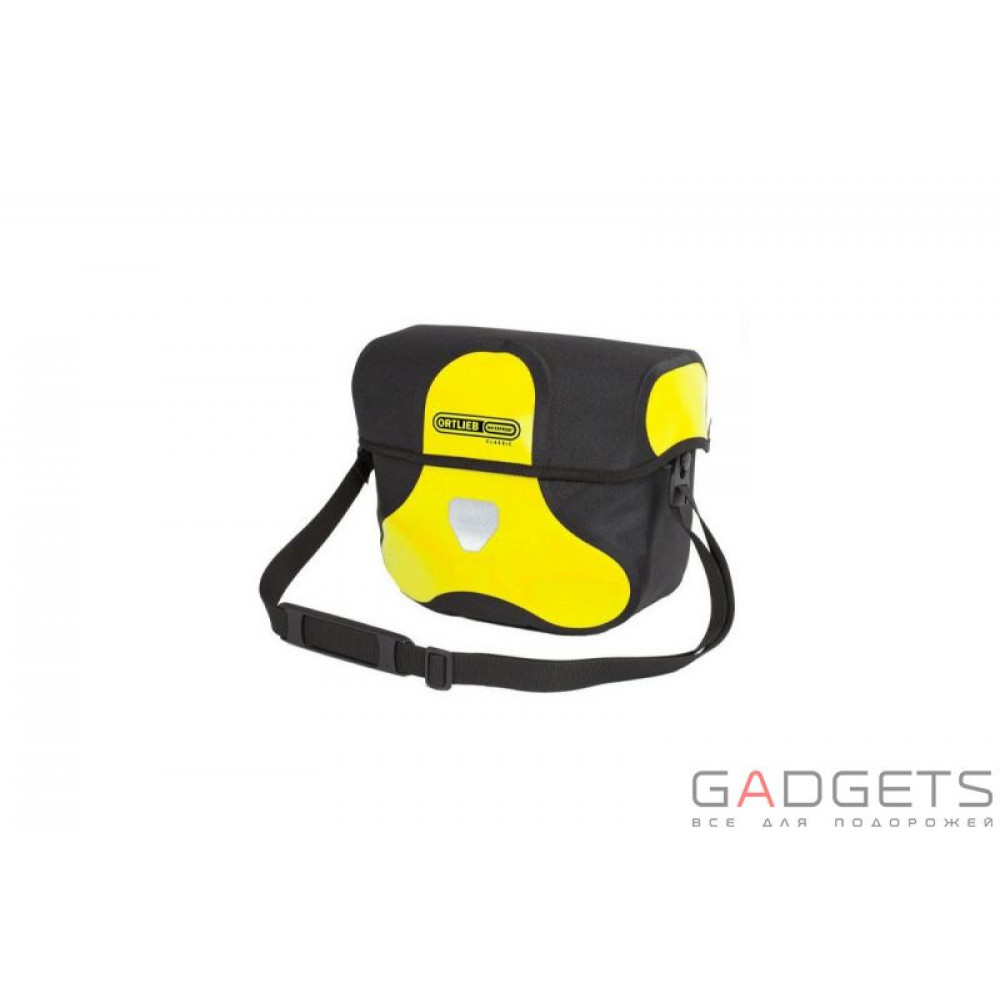 Фото Гермосумка велосипедная Ortlieb Ultimate Six Classic yellow-black 7 л