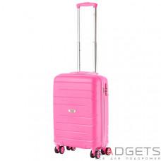 Чемодан TravelZ Big Bars (S) Pink