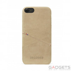 Чехол Decoded Leather Back Cover для iPhone 7 Сахара (D6IPO7BC3SA)