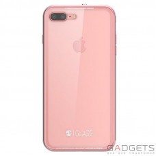 Чохол  SwitchEasy Glass Case Pink для iPhone 7 Plus