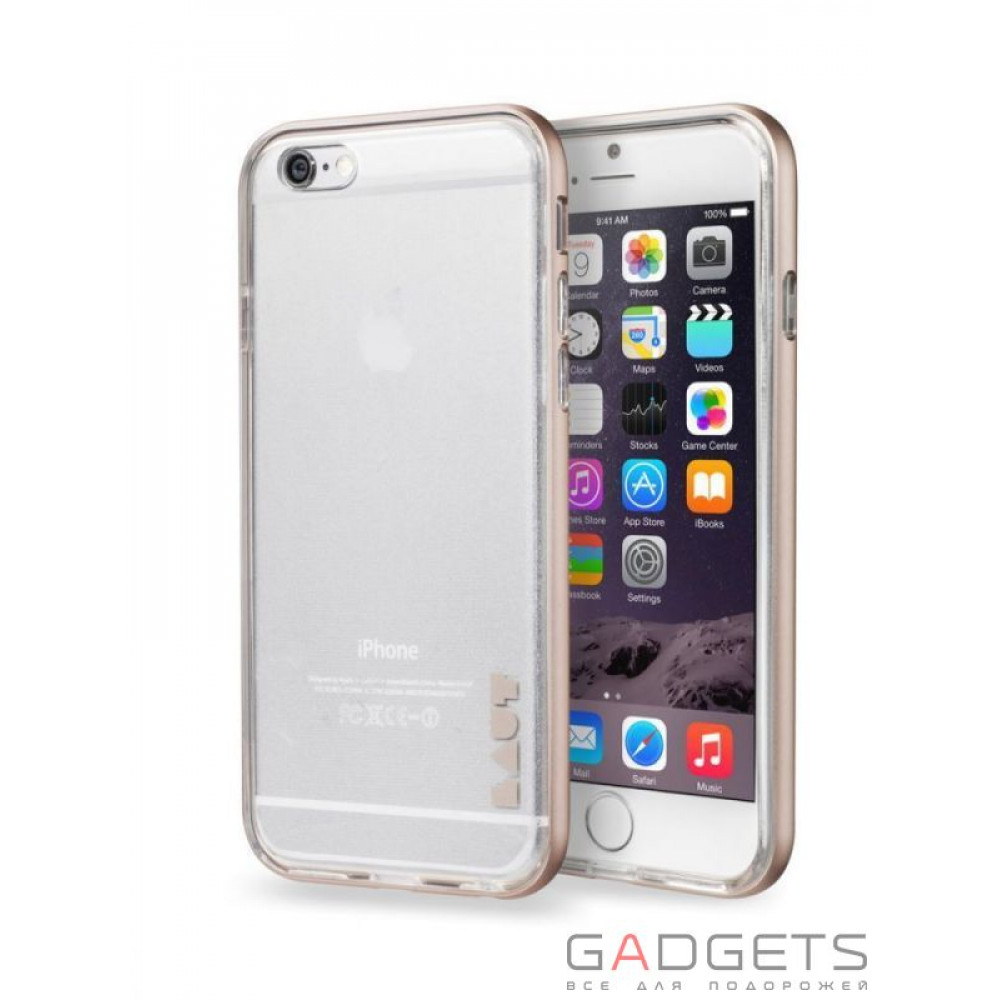 Фото Чехол Laut EXOFRAME Case for iPhone 6 (LAUT_IP6_EX_GD)