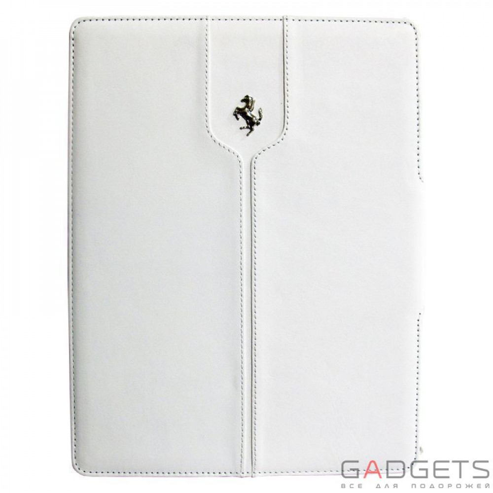Фото CG Mobile Ferrari Leather Folio Case Montecarlo Collection White for iPad Air (FEMTFCD5WH)