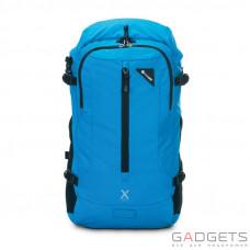 Рюкзак антивор Pacsafe Venturesafe X22, 6 степеней защиты, голубой