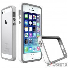 Бампер Evolutive Labs RhinoShield Crash Guard White для iPhone 55SSE