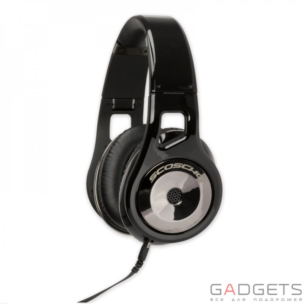 Фото Наушники Scosche Reference Grade On Ear Headphones with tapLINE III Control Technology (Dark)