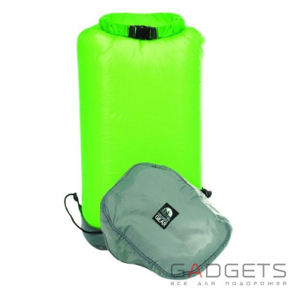 Фото Гермомішок Granite Gear eVent Sil Compression Drysac 25L Jasmine Green