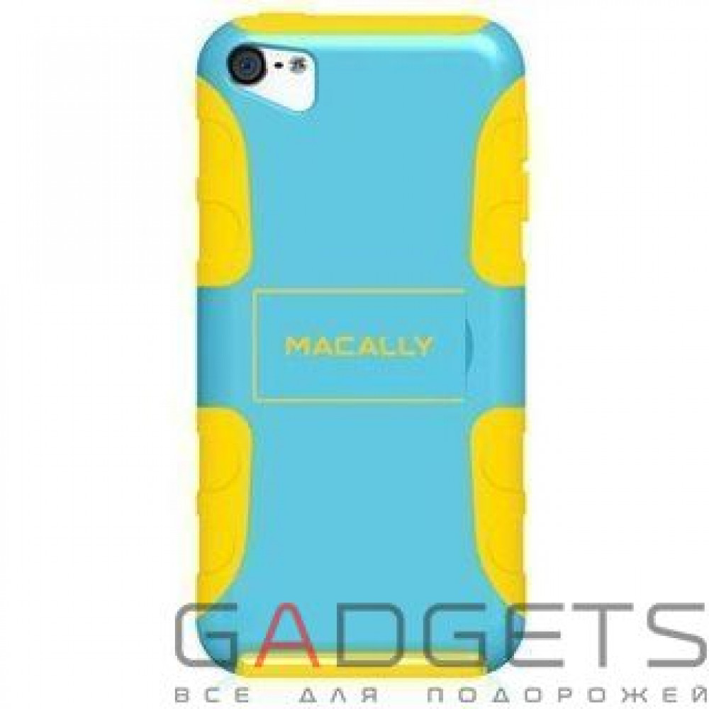 Фото Чехол Macally Protective Case with Stand for iPod touch 5 (TANKBL-T5)