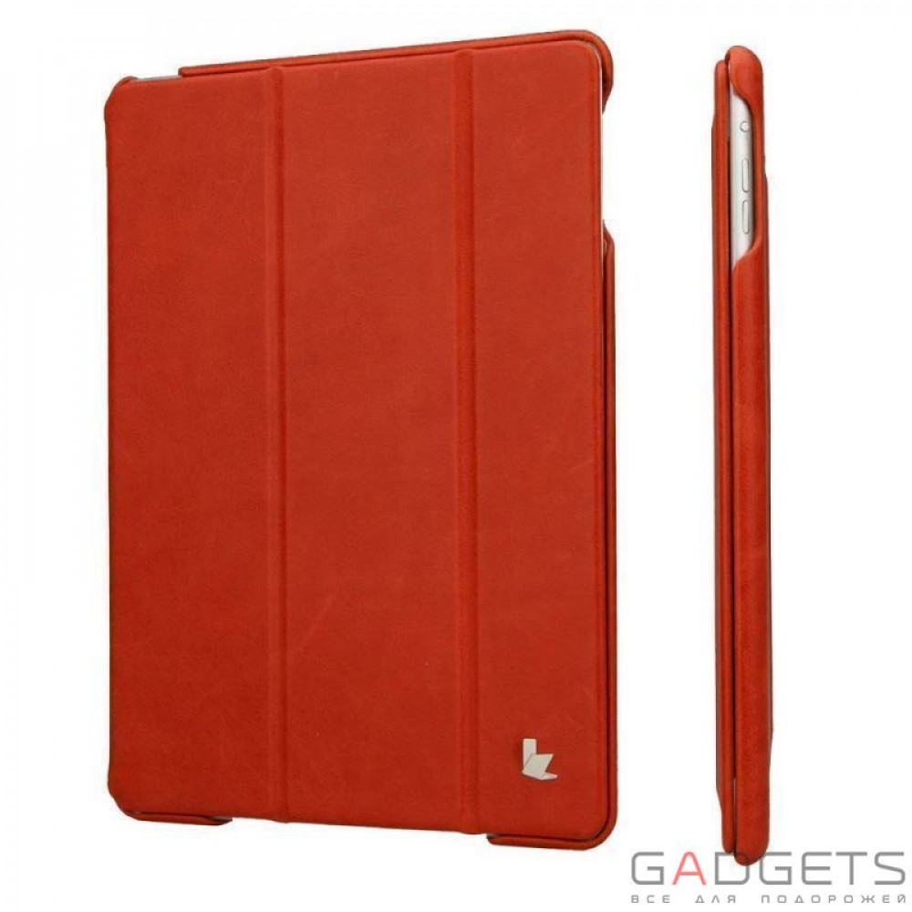 Фото Jison Case Vintage Leather Smart Case Red for iPad Air (JS-ID5-01A30)